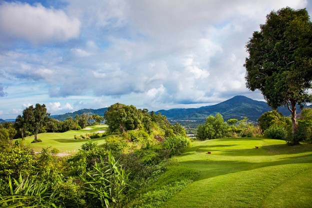 Red Mountain Golf Club, golf tours in Phuket, Thailand