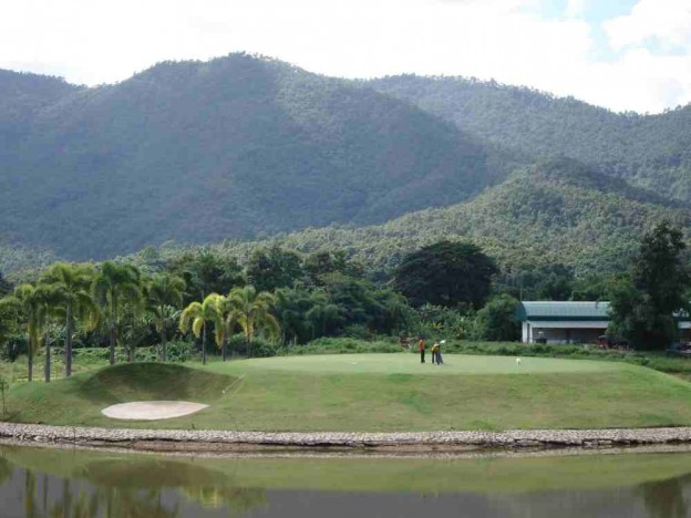 Summit Green Valley Chiangmai Country Club, golf holidays in Chiang Mai, Thailand