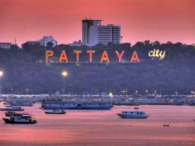 Pattaya by Night, Thailand