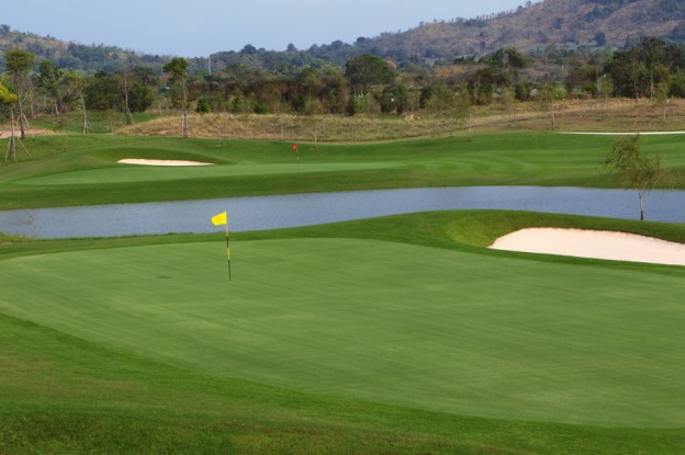 Siam Country Club Waterside Course, golf holidays in Pattaya, Thailand
