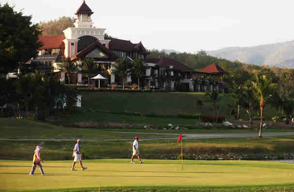 Springfield Royal Country Club, golf tours in Hua Hin, Thailand
